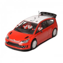 Citroen C4 WRC Red and...