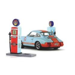 Poste Gulf gasolinera Sideways